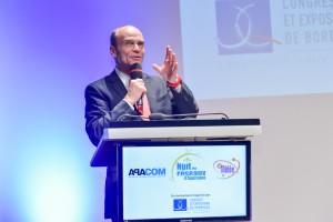 Charles-Marie Boret à la Nuit des réseaux 2015